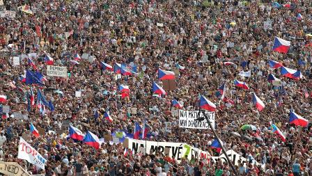czech protests 1