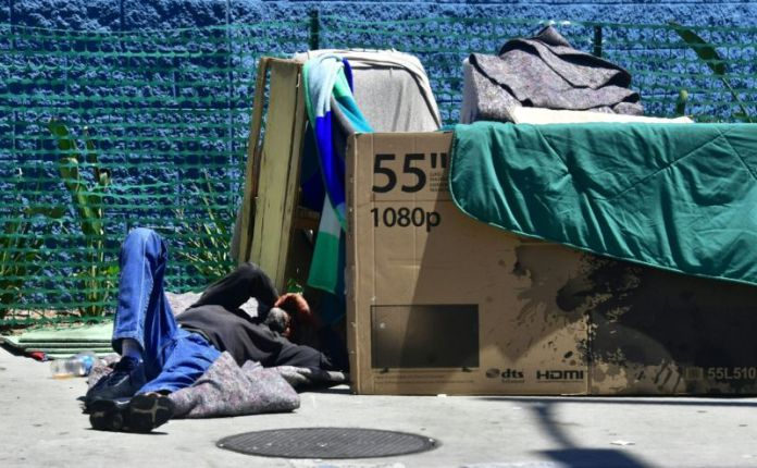 Homeless-Los-Angeles