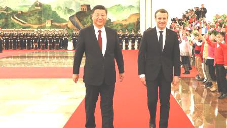 china-france backinh